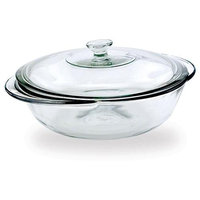 Anchor Hocking 2-qt Clear Covered Casserole Dishes (Set of 4)