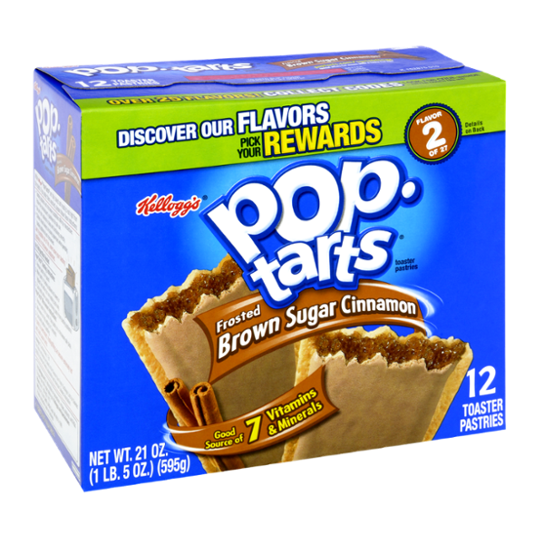 Kellogg's Pop-Tarts, Frosted Brown Sugar Cinnamon
