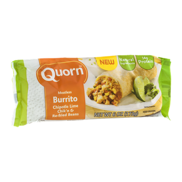 Quorn Burrito Chipotle Lime Chik'n & Re-fried Beans Meatless