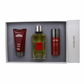 Guerlain Habit Rouge Gift Set for Men, 3 Pc, 1 ea