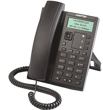 Aastra - 80C00005AAA-A - 6863i 2-Line SIP Desktop Phone with 2.75 Monochrome LCD Display - Does Not Include Power Supply