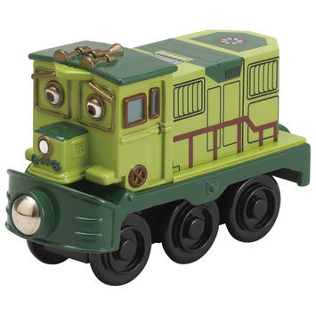 Learning Curve International, Inc. Chuggington Wooden Railway Dunbar Engine by Learning Curve