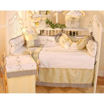 Brandee Danielle Be Be Bugs 4 Piece Crib Bedding Set