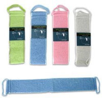 Fred & Friends Back Strap Body Scrubber with Handles (Assorted Color)
