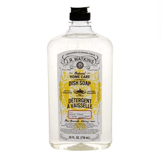 J.R. Watkins Natural Home Care Dish Soap Lemon