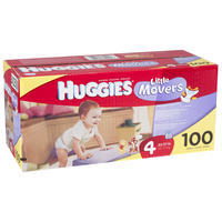 HUGGIES Supreme Baby Wipes Hi-Ct Junior S-4 100ct
