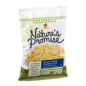 Nature's Promise White Cheddar Puffs