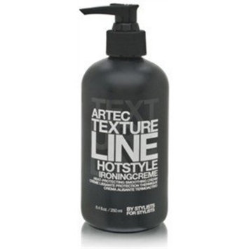 Artec Texture Line Hotstyle Ironing Creme Hair Styling Creams - Heat-Protecting Smoothing Cream (8.4 oz.)