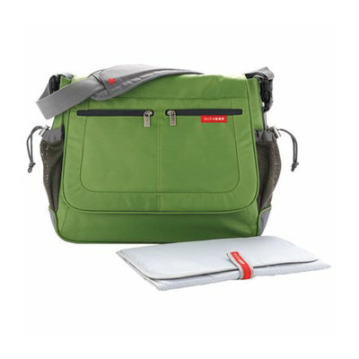 Skip Hop Via Tech Messenger Diaper Bag Lime by