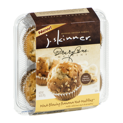 J. Skinner Drury Lane Muffins Mind-Blowing Banana Nut Muffins