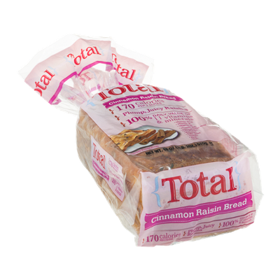 Total Cinnamon Raisin Bread