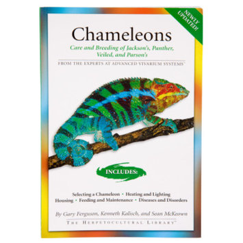 Bowtie Press Chameleons Care and Breeding of Jackson's, Panther, Veiled, and Parson's