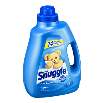 Ultra Snuggle with Fresh Release Blue Sparkle Fabric Softener -  120 Loads