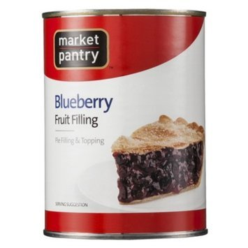 Market Pantry Blueberry Fruit Pie Filling or Topping 21-oz.