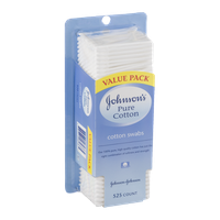 Johnson's Pure Cotton Cotton Swabs - 525 CT