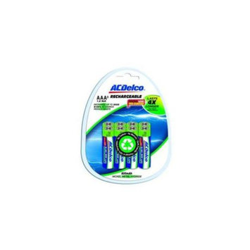 ACDelco AC743 8 AAA Ni-MH Rechargeable Battery