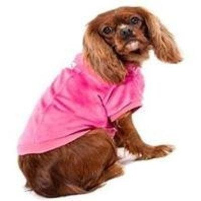 Ethical Pet Ski Lodge Dog Jacket Size: Medium, Color: Pink