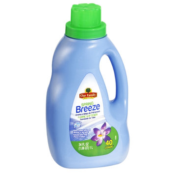 Our Family Spring Breeze Fabric Softener - 40 Loads