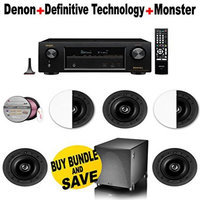 Electronics Expo Denon AVR X1200W 7.2 Channel Full 4K Ultra HD A V Receiver with Bluetooth and Wi Fi 5 Definitive T