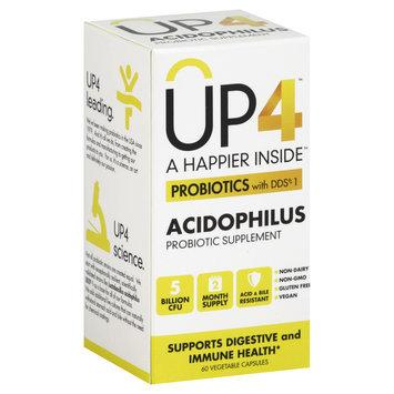 Up4 UP4 Probiotics with DDS-1 Acidophilus - 60 Vegetable Capsules
