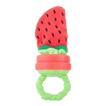 Sassy Strawberry Terry Teether, 1 ea