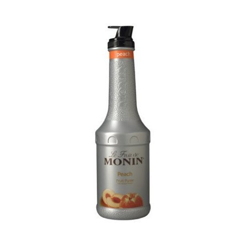 Monin Peach Puree Fruit Puree, 1 Liter (01-0408) Category: Drink Syrups