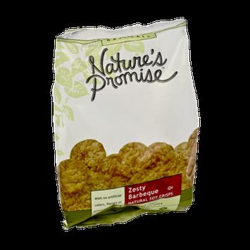 Nature's Promise Naturals Zesty Barbeque Natural Soy Crisps