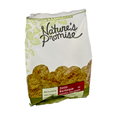 Nature's Promise Naturals Zesty Barbeque Natural Soy Crisps
