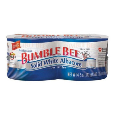 Bumble Bee 4-pk. Solid White Albacore Tuna in Water 5-oz.