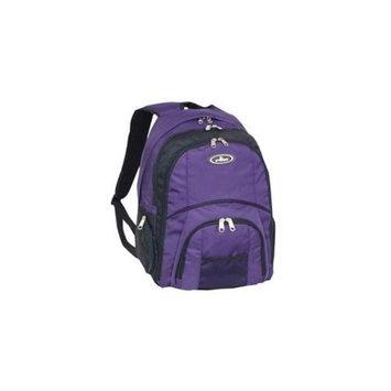 Everest 7045LT-EGP Laptop Computer Backpack - Eggplant