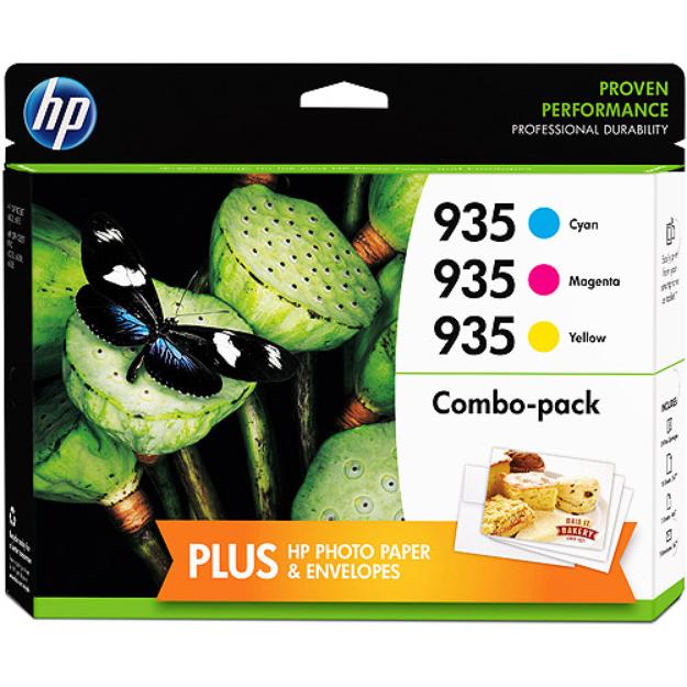 HP 935 Tri-Color Ink Cartridge