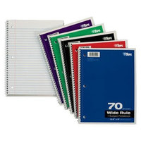 1-Subject 70-sheet College-Rule Notebook