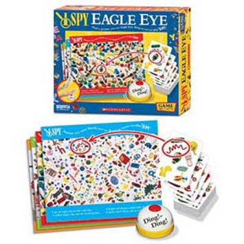 I Spy Eagle Eye Game Ages 4+
