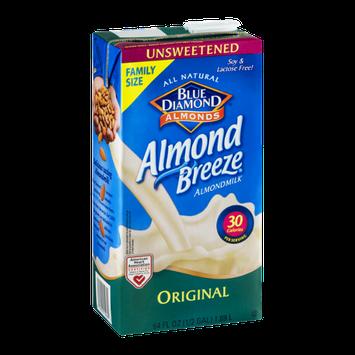 Blue Diamond Almonds Almond Breeze Almondmilk Original Unsweetened