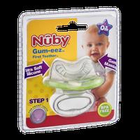 Nuby Gum-eez First Teether 0m+