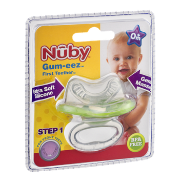 Nuby Gum-eez First Teether 0m+