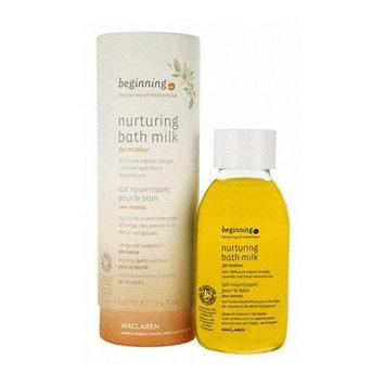 beginning by Maclaren Nurturing Bath Milk For Mother 3.4 fl oz (100 ml)
