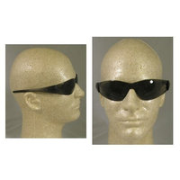 Crews MCR Safety CK112 Checkmate Safety Glasses with Clear Polycarbonate Frame and Grey Lens