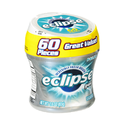 Eclipse Sugarfree Gum Polar Ice