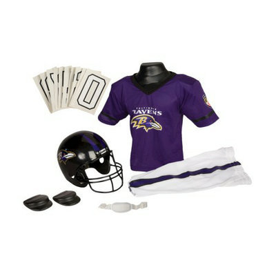 Franklin Sports NFL Ravens Deluxe Uniform Set - Medium