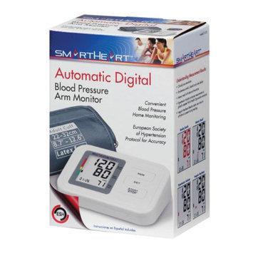 Veridian Healthcare SmartHeart Automatic Arm Digital Blood Pressure Monitor, White, 1 ea