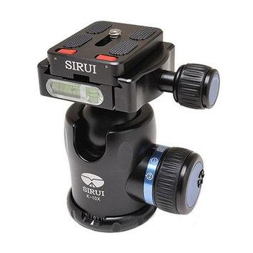 SIRUI K-10X 33mm Ballhead with Quick Release, 44.1 lbs Load Capacity