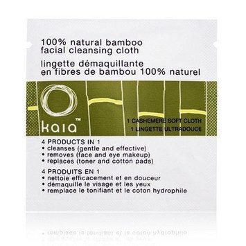 Kaia Bamboo Facial Cleansing Cloths 1 Cashemere Soft Cloth