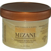 Shimmer Reflects Medium Hold Gel By Mizani for Unisex, 8 Ounce