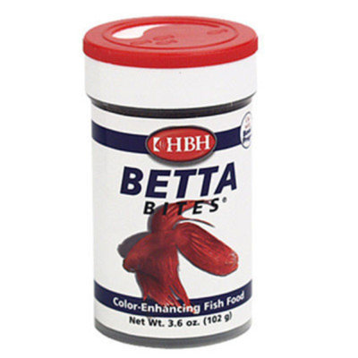HBH Betta Bites Color Enhancing Fish Food