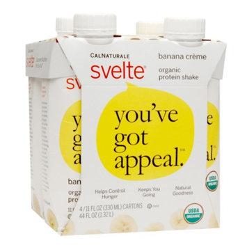 CalNaturale Svelte Organic Protein Shake Banana Creme