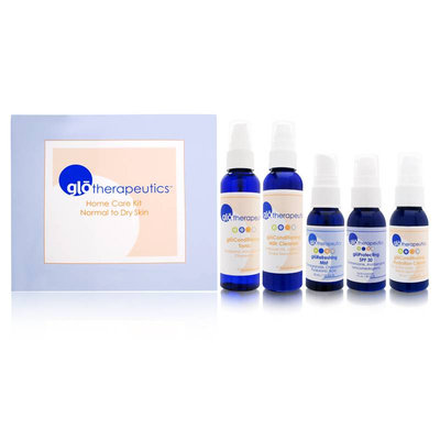 Glominerals glotherapeutics Home Care Kit for Normal to Dry Skin