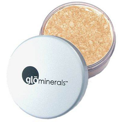 glominerals glo Loose Base Powder Foundation Honey Light