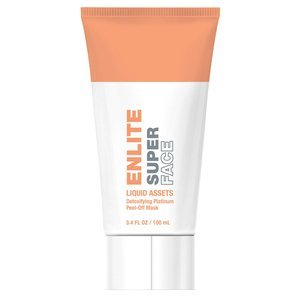 Enlite Super Face LIQUID ASSETS Detoxifying Platinum Peel-Off Mask