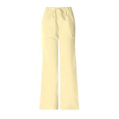 Simply Basic Zesty Lemon Flare-Leg Pants